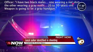 Local sailor identified in shooting - Video