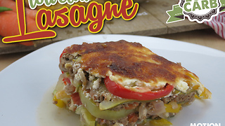 Low carb lasagna recipe - Video