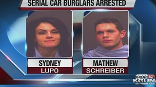 Deputies catch serial car burglars - Video