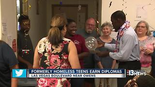HELP of Southern Nevada celebrates four graduates