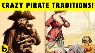 Crazy Sea Traditions Pirates Used to Follow On Ships