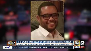 FBI says they won't take lead on Detective Suiter's death investigation - Video