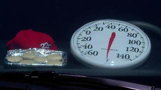 Live Stream - Baking cookies in a hot car (Thermometer Melts) - Video