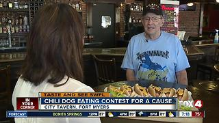 Chili Dog Eating Contest - Video
