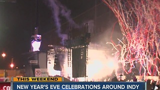 New Year's Eve celebrations in Indy - Video