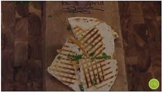Healthy vegetarian quesadilla recipe