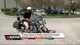 Fla. leads nation in motorcycle crash fatalities - Video