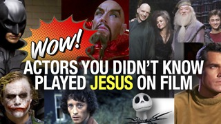 Actors Who Played Jesus on Film - Video