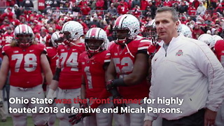 Ohio State Stops Recruiting 5-Star DE Amid NCAA Violations - Video