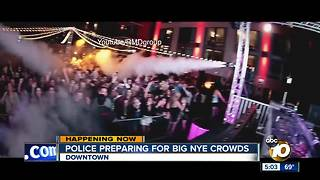 San Diego Police preparing for big NYE crowds - Video