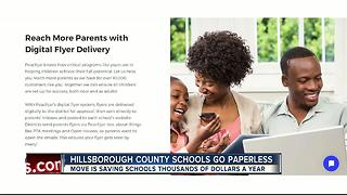 Going paperless is saving Hillsborough Schools thousands - Video