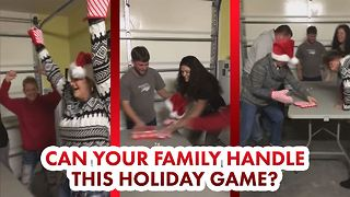 Play the Xmas party game everyone is going nuts over - Video