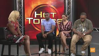 All Eyez on Me cast on new movie chronicling Tupac's life | Hot Topics - Video