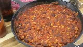 Tasty beans and bacon recipe - Video