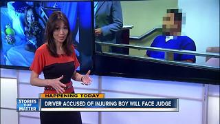 Preliminary hearing for DUI crash that injured boy - Video