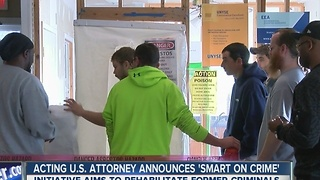 Acting U.S. Attorney James P. Kennedy announced a new 'Smart on Crime' initiative - Video