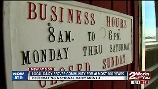 Local dairy serves community for nearly 100 years - Video