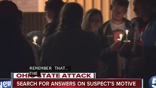 Leaders, students unite together at The Ohio State University after knife attack - Video