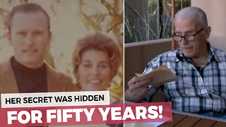 Man Finds Hidden Time Capsule From Wife 50 Years After Her Death! - Video