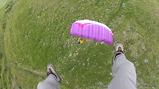 Pilots Fly Feet From The Ground At 60mph - Video