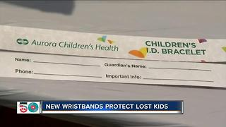 Wristbands prevent lost children at Summerfest - Video