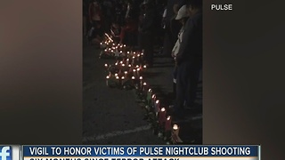 Vigils honor victims of Pulse nightclub shooting - Video