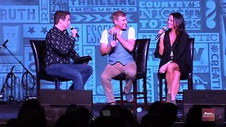 Todd Chrisley and Sara Evans talk about Father's Day with Hunter Kelly | Rare Country - Video