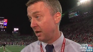 Report: Arizona Wildcats athletic director Greg Byrne headed to Alabama - Video