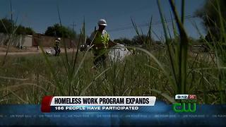 Work program for homeless people in Tucson is expanding - Video