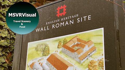 Frosty Sunny Morning At Wall Roman Site - A HyperLapse