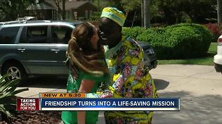 Friendship turns into a life-saving mission - Video
