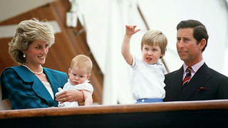 Young Prince William And Harry - Video