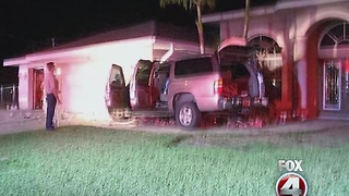 Off-duty officer charged with DUI after crashing into Cape Coral home - Video