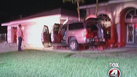 Off-duty officer charged with DUI after crashing into Cape Coral home