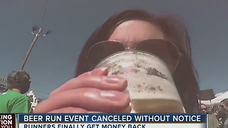 Beer run event canceled without notice - Video