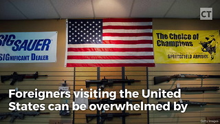 British Man Wanders Into US Gun Store