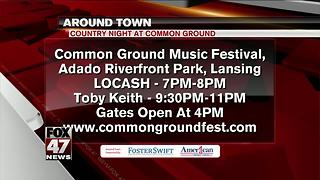 Around Town 7/6/2017: Toby Keith at Common Ground - Video