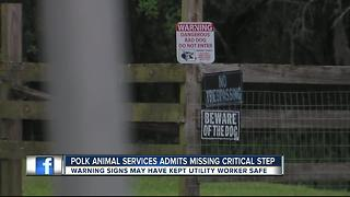 Polk Animal Services admits missing critical step