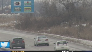 Icy roads causing dangerous driving conditions in Northeast Wisconsin - Video