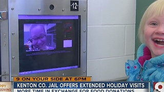Kenton County Jail offers extended Thanksgiving visiting hours - Video