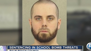 Sentencing in school bomb threats - Video