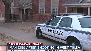 Police searching for West Tulsa murder suspects - Video