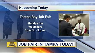 Tampa Bay Job Fair hosting dozens of employers on Tuesday looking to hire - Video