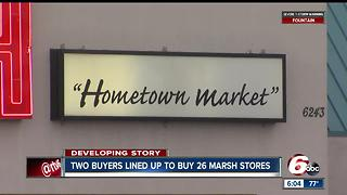 Two buyers to buy 26 Marsh stores