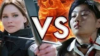The Hunger Games VS Battle Royale - Video