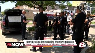 Bloomington police increase presence amid crime complaints - Video