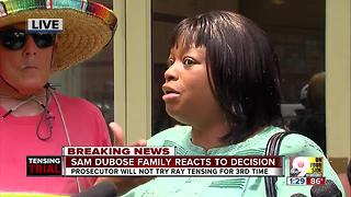 Sam DuBose's family speaks out after decision - Video