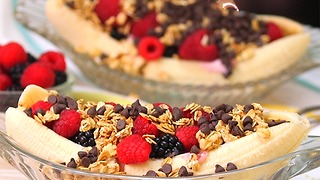 Breakfast Banana Split - Video
