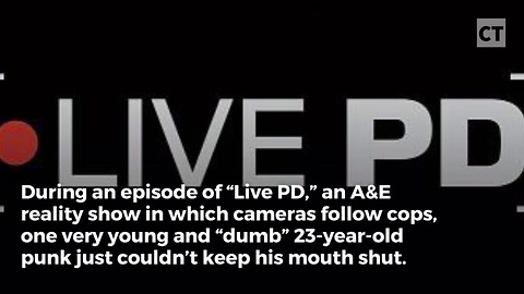 """Louthmouthed """"Dumb"""" Son Interrupts Dad's Chat With Police"""