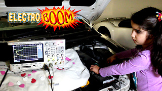 Cranking a car with super capacitors - Video